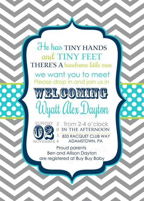 25 Best Sip And See Ideas On Pinterest The Sip Sip N See And Baby Boy Sip And See Meet The Baby Invitation Templates