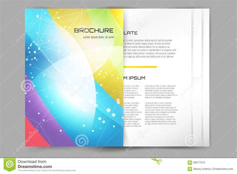Book Brochure Template by Abstract Brochure Or Flyer Design Templatee Stock Vector