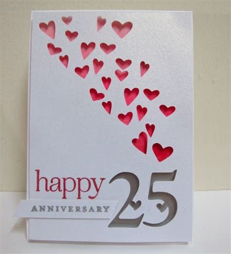 Handmade Anniversary Cards For Parents - 25 best ideas about wedding anniversary cards on