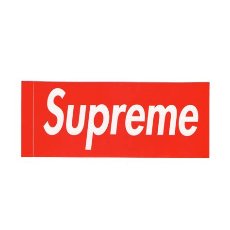 supreme stickers supreme box logo sticker get supreme
