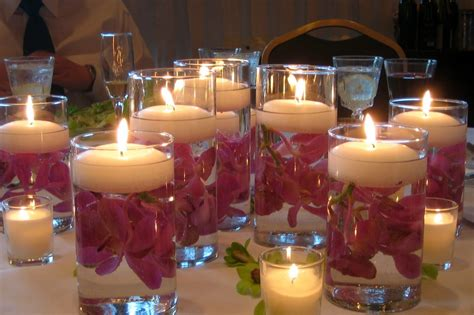 Wedding Vases With Floating Candles sew what wedding