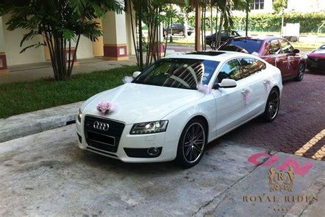 bmw audi mercedes wedding car hire singapore - Wedding Car Audi