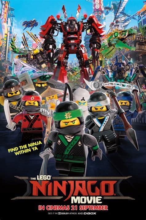 Poster Lego Ninjago 2017 golden screen cinemas synopsis