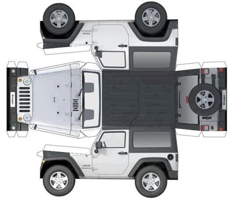 diy jeep papel