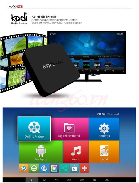 android 4k android tv box mxq 4k tech360