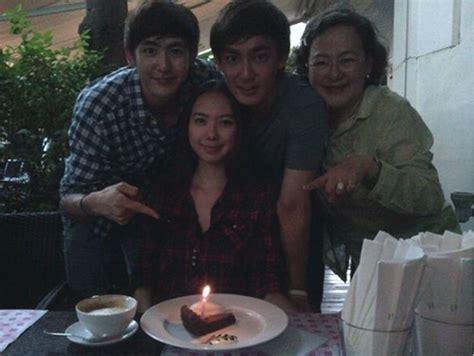 film thailand nichkhun 2pm 2pm s nichkhun shares family photo soompi