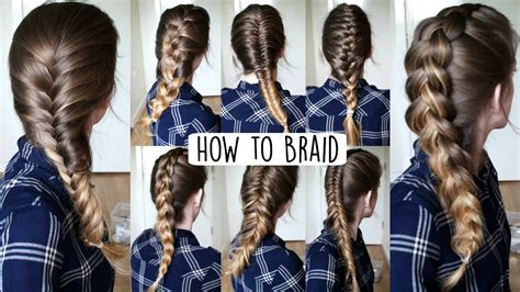 howtododoughnut plait in hair how to braid your own hair for beginners how to braid