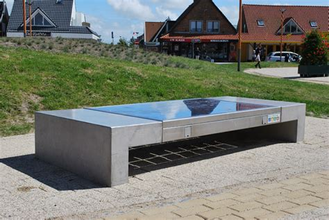 solar bench ecotap solar bench ecotap oplaadpalen