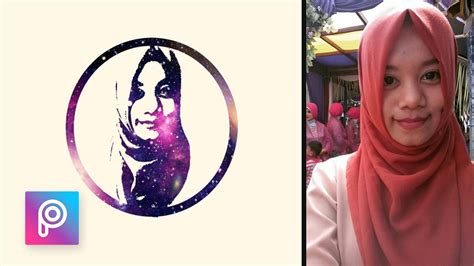 tutorial edit picsart indonesia cara edit foto wajah galaxy dengan picsart picsart