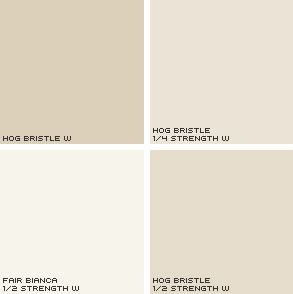 dulux half hog bristle bottom right our new house hallways wall colours and