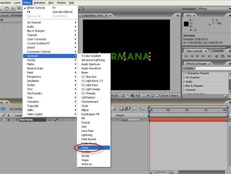 membuat intro pada video membuat intro film dengan after effect