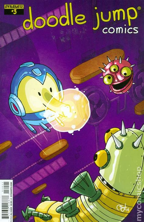 doodle jump comic book doodle jump 2014 comic books
