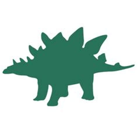 stegosaurus outline clipart best