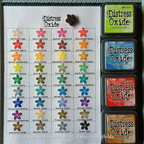 distress ink color chart stingmathilda distress oxide color chart