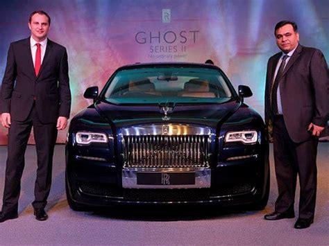 roll royce delhi rolls royce ghost series ii now in delhi drivespark news