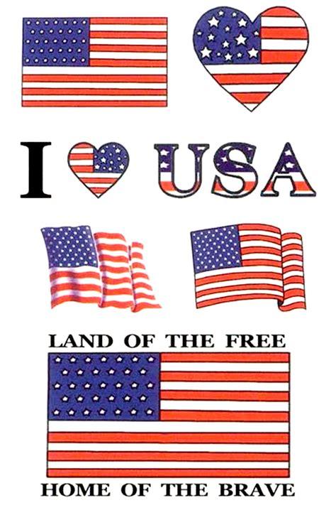 american flag temporary tattoos american flag patriotic usa temporary tattoos