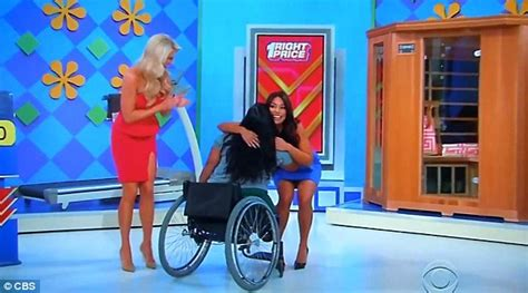 Thepriceisright Giveaways - price is right s danielle perez wins a treadmill despite being wheelchair bound