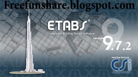 etabs full version free download free games free registered softwares with helping videos