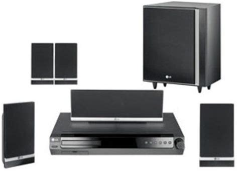 Home Theater Power Up lg lht734 home theater system 500 watts total power made for ipod 1080i up conversion hdmi