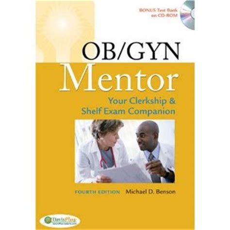 medbrothers ob gyn mentor your clerkship and shelf