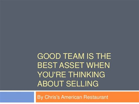 Roster Outer Best Seller team is the best asset when you re thinking about selling
