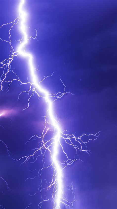 wallpaper thunderstorm lightning blue sky hd