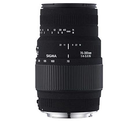 Sigma 70 300 Nikon buy sigma 70 300 mm f 4 5 6 dg macro telephoto zoom lens for nikon free delivery currys