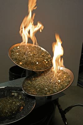 diy glass pit diy network hgtv fireplaces pits
