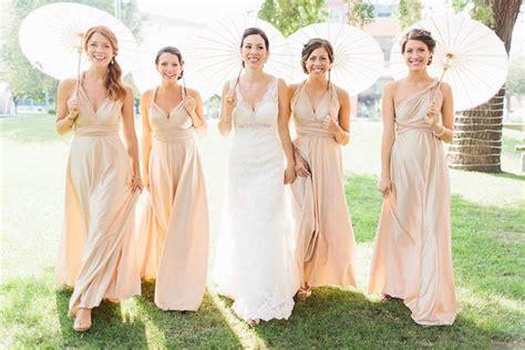 Handmade Bridesmaid Dresses - the canopy artsy weddings weddings