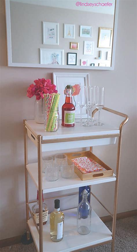Raskog Cart Ideas remodelaholic 25 diy bar carts amp accessories