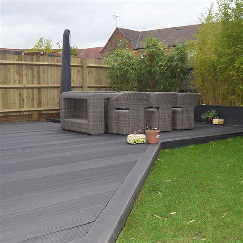 gray deck grey composite decking saige composite decking