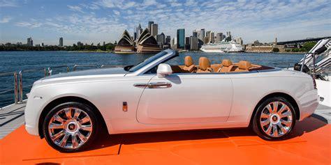 roll royce australia rolls royce dawn debuts in australia with 749 000 price