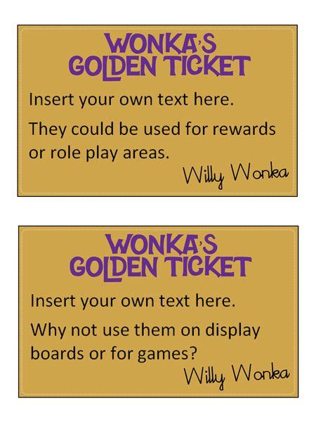 free golden ticket template 51 best images about topic resource ideas on