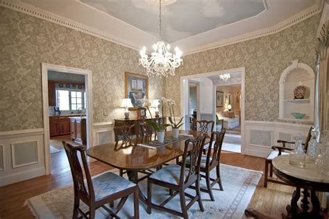 traditional dining rooms traditional dining room with wainscoting chair rail in