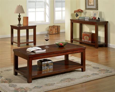 cherry sofa tables estell cherry sofa table from furniture of america