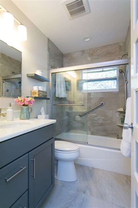 Traditional Master Bathroom Ideas by Gray Bathroom Vanity Bathroom Rustic With Double Bathroom