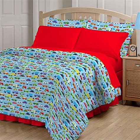 bright cars comforter set bed bath beyond