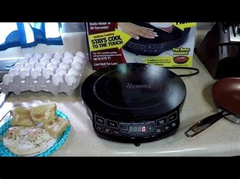 nuwave 2 cooktop nuwave 2 cool induction cooktop review fried eggs