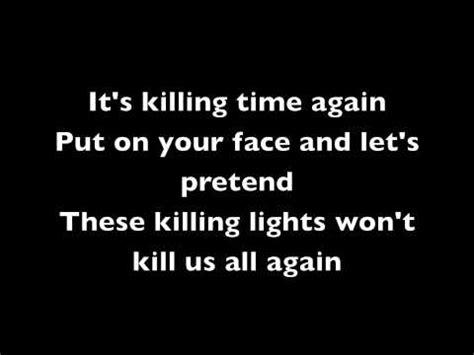 afi the killing lights lyrics