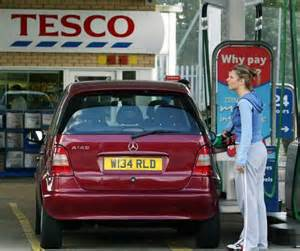 tesco sparks price war at the fuel pumps with 10p off a