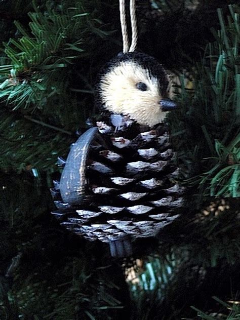 my penguin tree may 2011 my penguin tree pine cone penguin