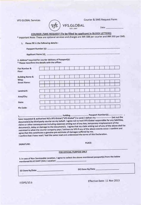 vfs appointment letter for us visa vfs appointment letter for us visa 28 images italy