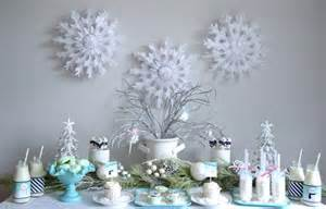 Winter wonderland party with such cute ideas via kara s party ideas