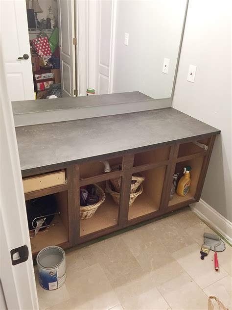 Refinishing Bathroom Vanity How To Refinish A Bathroom Vanity Bower Power