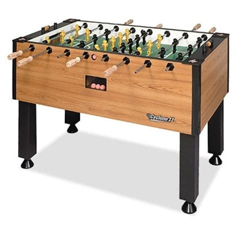 Foosball Table Game Plan Entertainment Foosball Table Tornado