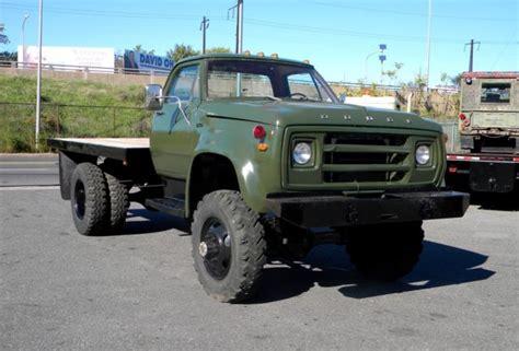 1975 dodge w600 powerwagon 4x4 318 v8 engine runs and