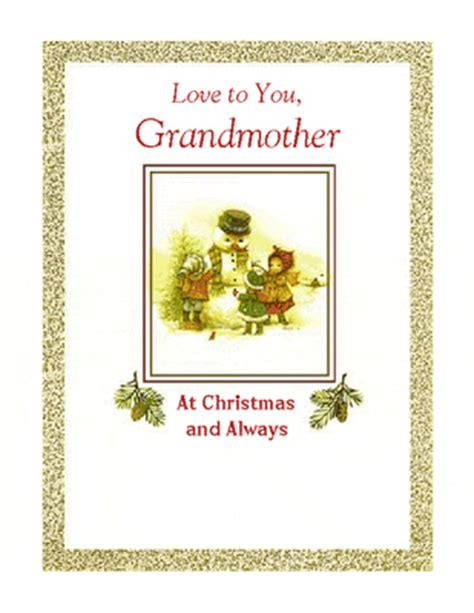 printable christmas cards love quot love for grandmother quot christmas printable card blue