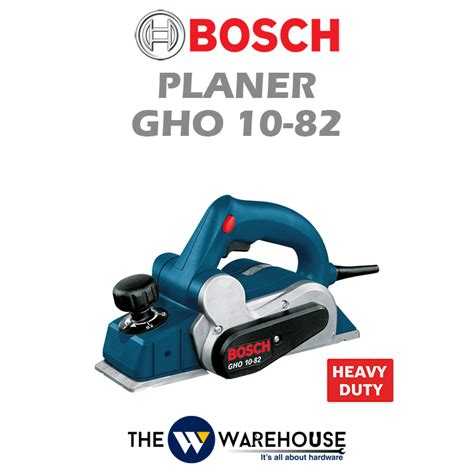 Mesin Serut Bosch Gho 10 82 bosch planer gho 10 82 malaysia thewwarehouse