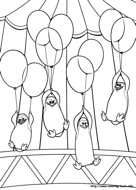 the penguins of madagascar coloring pages coloring pages