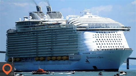 biggest private ships in the world video the largest most luxurious cruise ship in the